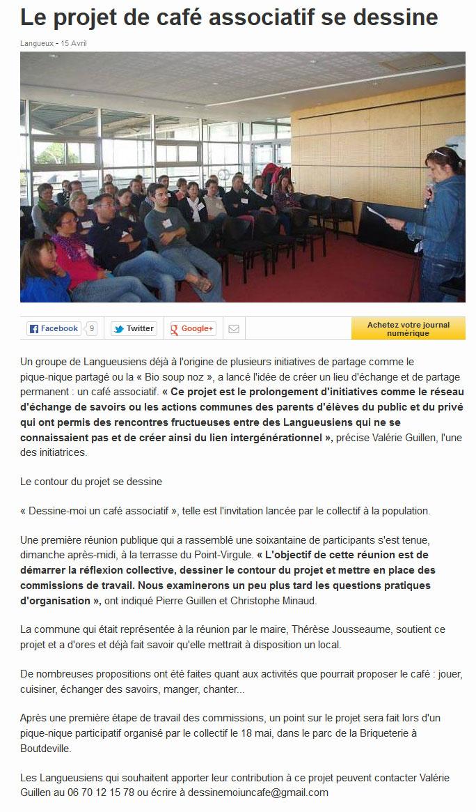 article-Ouest-france---1ere-reunion-publique