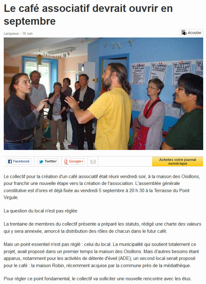 article-Ouest France - reunion-charte