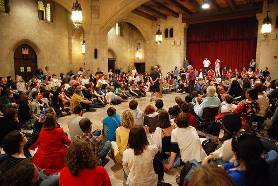 Théâtre forum sur le thème des relations