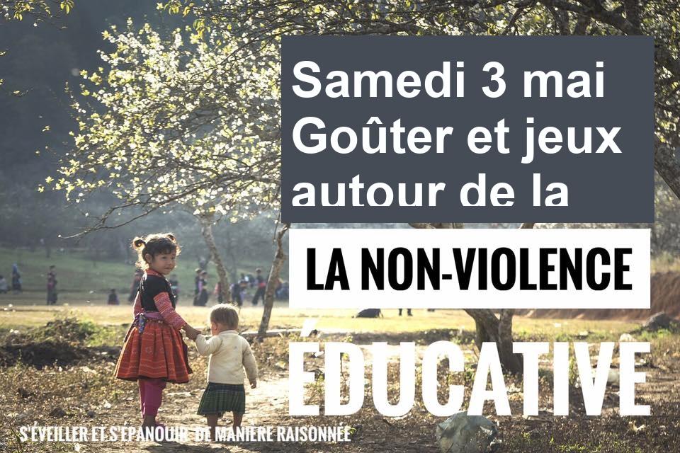 Jeux et goûter autour de la non-violence éducative
