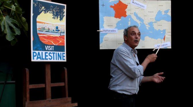 Annulé Conférence gesticulée : Moi, Français-Juif-Arabe, Comment j'ai démissionné du sionisme
