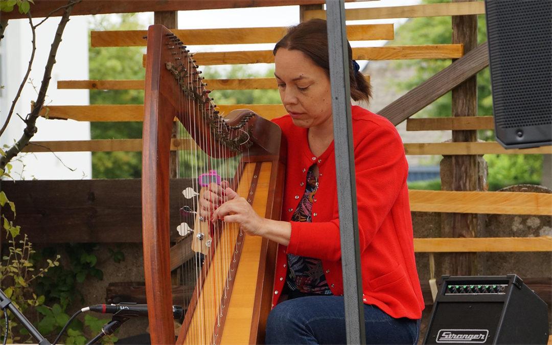 Douceur musicale au jardin du kikaf